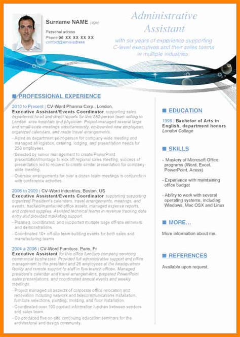 template curriculum vitae word 2010 7 download cv template word 2010 mail clerked