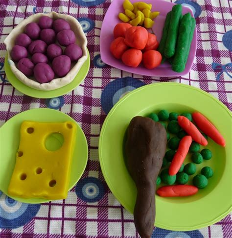 Nourriture Pate A Modeler 7 fa 231 ons rigolotes de jouer avec la nourriture pigmentropie