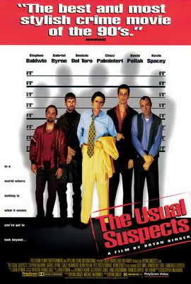 The Usual Suspects 1995 Film The Usual Suspects Movie Posters From Movie Poster Shop