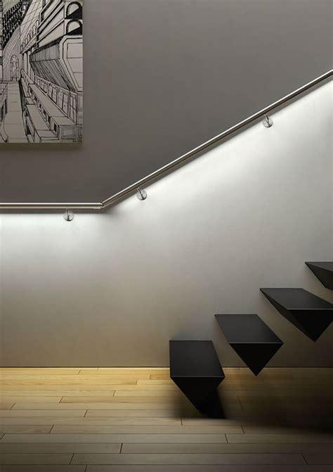 led per scale interne illuminazione per scale interne 30 idee originali con