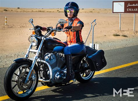harley ride in pictures taking back the reins dubai s bikers