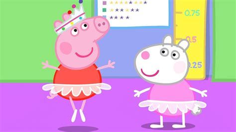 peppa pig goodnight peppa youtube peppa pig english episodes ballet lessons with peppa