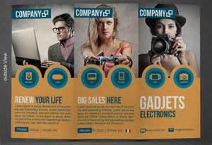 gadgets brochure template 02 top newsletter template