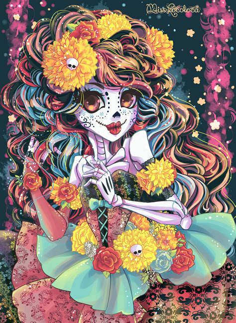imagenes comicas mexicanas skelita calaveras by misslocoloca on deviantart