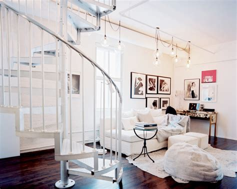 Living Room With Stairs Design Modern Living Room Photos 139 Of 573 Lonny