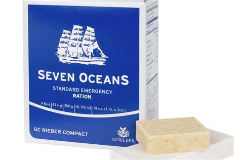 I Lift Original Oceanseven Seven Oceans 174 Emergency Ration Gc Rieber Compact