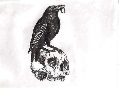 the crow tattoo designs images designs