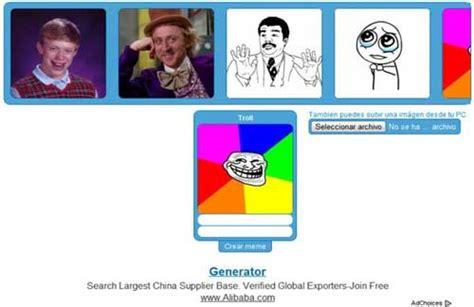 Meme Online Generator - crear memes online y gratis para tus perfiles en redes