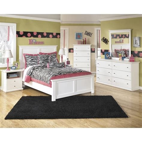 bostwick shoals bedroom set ashley bostwick shoals 6 piece wood full panel bedroom set