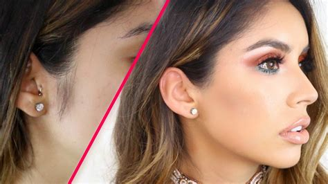 womens sideburns how to fix them how to remove female sideburns facial hair youtube