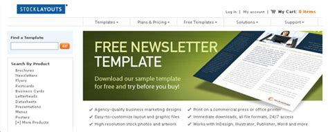 100 Free Responsive Html E Mail E Newsletter Templates Egrappler Free Sle Newsletter Templates