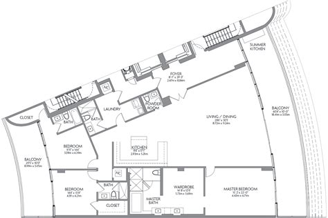 prive condo floor plan prive aventura an island beyond extraordinary located