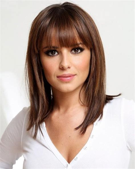 medium hairstyles layered with bangs medium length layered bob hairstyles with bangs medium