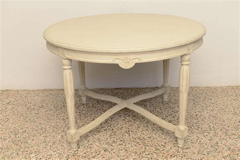 19th century swedish painted coffee table center table for