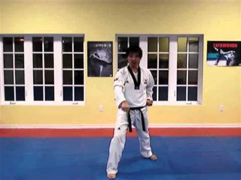 youtube taekwondo pattern 4 taekwondo pattern 1 poomsae youtube