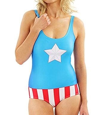Captain America Blue Swimsuit 2015 swimsuit popular captain america bodysuit at s clothing store