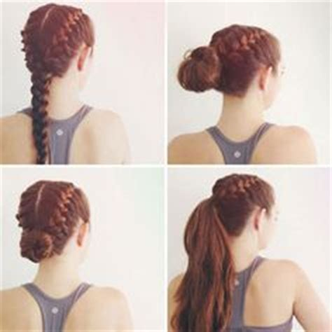 braiding styles that do not require a lot of preparation time 1000 ideas about sport hairstyles on pinterest