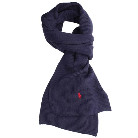 ralph scarf in blue for navy lyst
