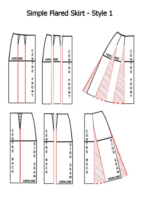 pattern drafting of skirt index of images pattern draft skirt