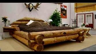 Wooden Bed Frame Interior Design 40 Wood Bed Made Ideas 2017 Unique Bed Frame Log
