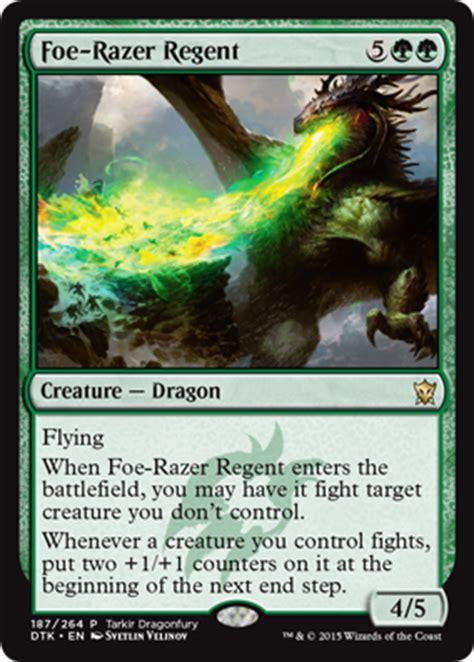 drachen deck magic dragons of tarkir promos magic the gathering