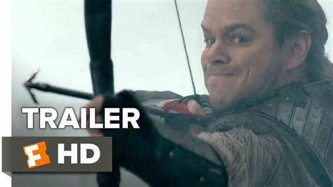 Film Terbaru Matt Damon 2017 | the great wall official trailer 2 2017 matt damon