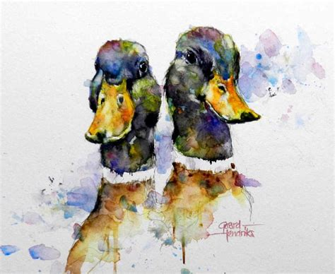 watercolor duck tutorial 1000 images about geese ducks swans on pinterest