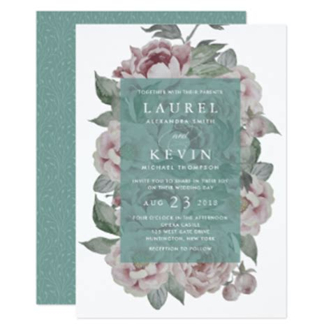 engagement party invitations with photo