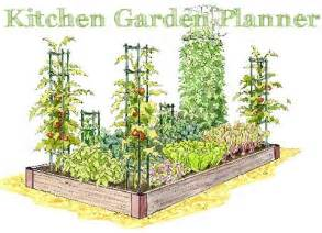 new kitchen garden planner gardener s journal