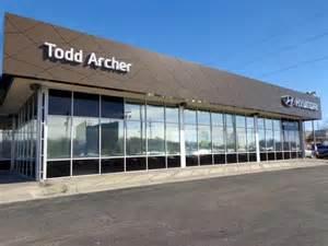 todd archer hyundai hyundai service center genesis