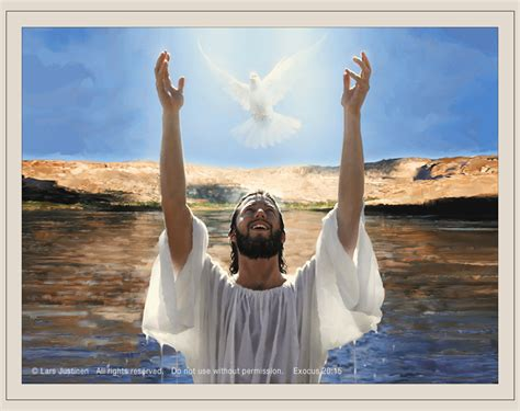 imagenes de jesus bautizado por juan paintings by lars justinen