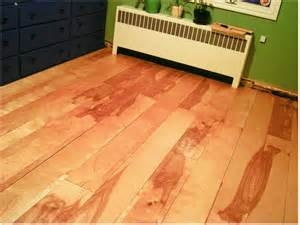Simple Floor Diy Project Beautiful Birch Plywood Flooring Made Easy