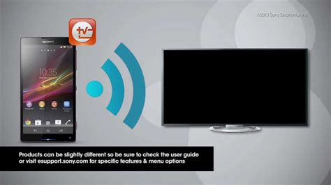 Tv Mobil Merk Sony how to use the tv sideview app with a smartphone and sony