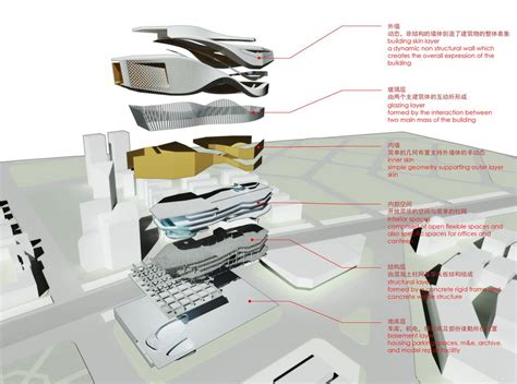 Design Concept Competition   dalian museum competition sculpture design 10 design