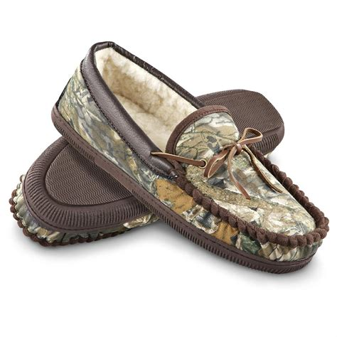 camouflage slippers s aquaduck 174 cabin slippers camo 154437 slippers at