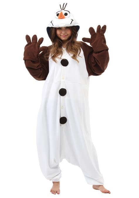 olaf costume olaf pajama costume