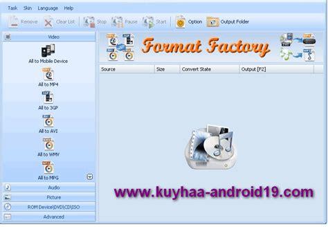 free download format factory kuyhaa format factory 3 0 1 1 final terbaru gratis aqib radeon