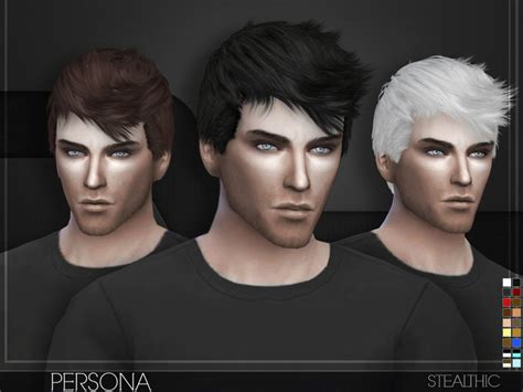 sims 4 male hairstyles stealthic persona male hair