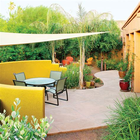 The Backyard Bistro by Great Ideas For Outdoor Rooms Sunset