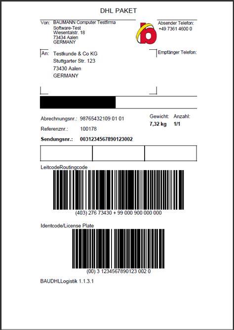 Adressaufkleber Dhl by News Zu Unserem Warenwirtschaftssystem Baumann Software