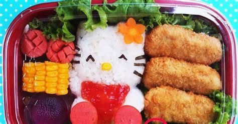Cetakan Nasi Bento Pemotong Nori Mini Panda daniqa cake and snack bento box n tumpeng
