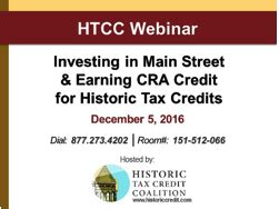news categories tax credit news historic tax credit