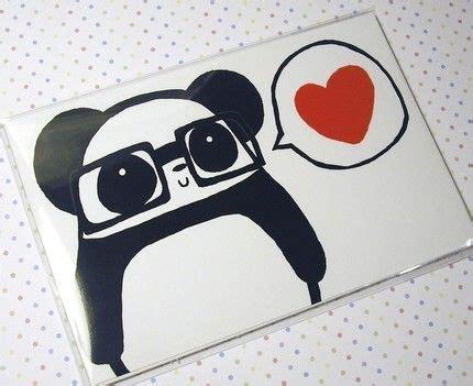 Imagenes De Ositos Hipster | panda loooove para el 14 de febrero hipster panda love