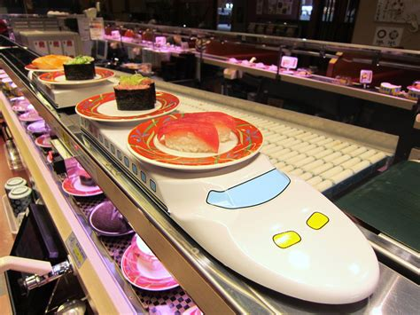 Japanese Dining Table by Customers Behaviour Changing Sushi Culture In Japan
