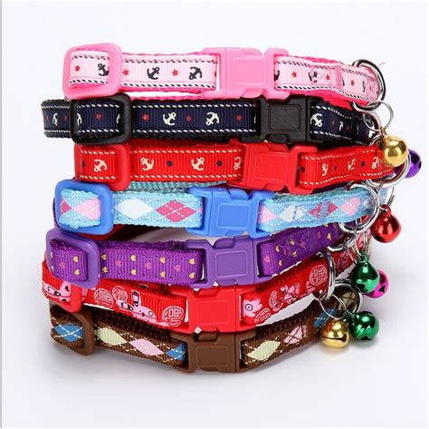 cute pattern dog collars cute nylon dog collar pattern printing pet cat collars