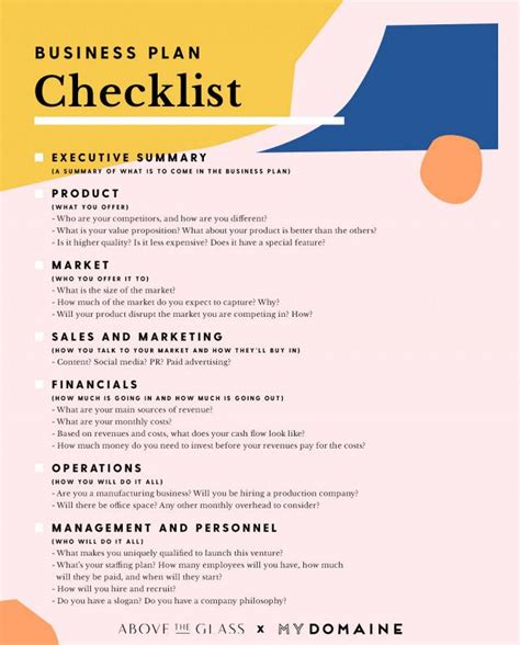 This Checklist Will Turn A Great Idea Into A Successful Business Business Business Planning Business Plan Idea Template