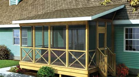 shed style roof covered wood deck on mobile home studio design gallery best design