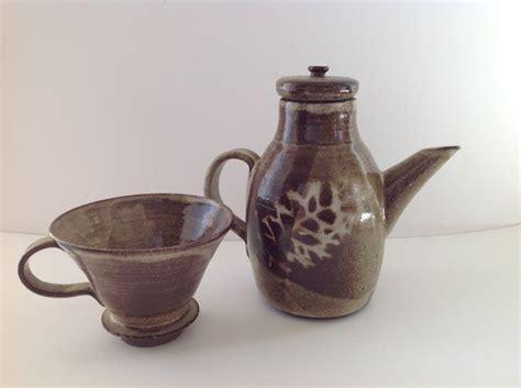 Classic Coffee Drip vintage studio pottery drip coffee pot ceramic drip