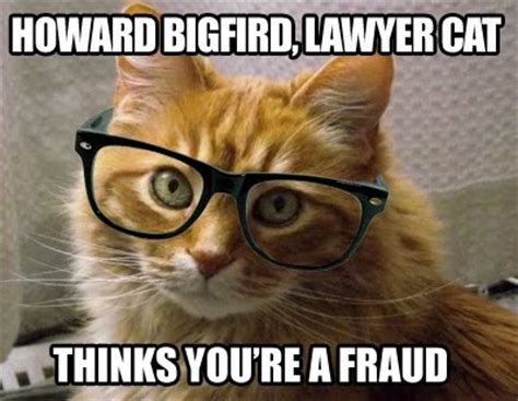 Lawyer Cat Meme - you me ride this crazy train adventures and