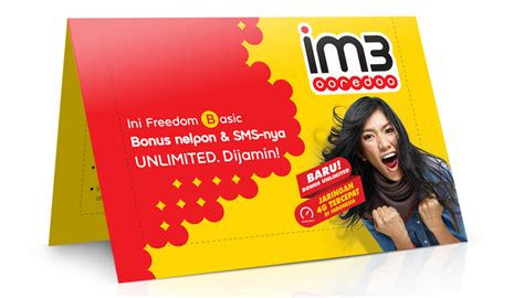 Kartu Perdana Indosat Im3 Hokicantik Nomormurahbagusrapihyb233 kartu perdana im3 ooredoo freedom basic manjakan pelanggan kabarnusa